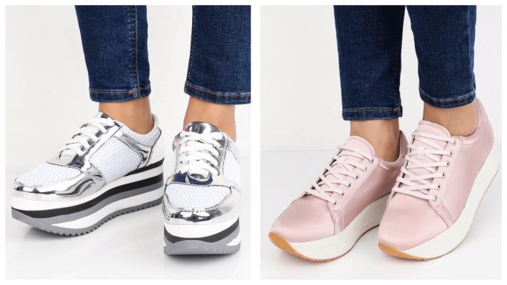 модные кроссовки весна лето 2020 на платформе