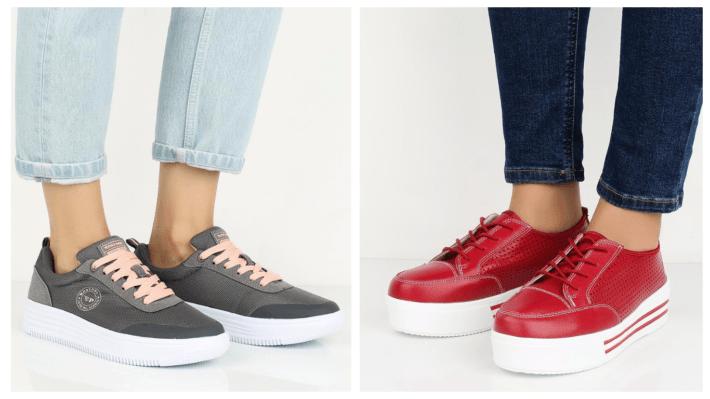 модные кроссовки весна лето 2020 на платформе разноцвет