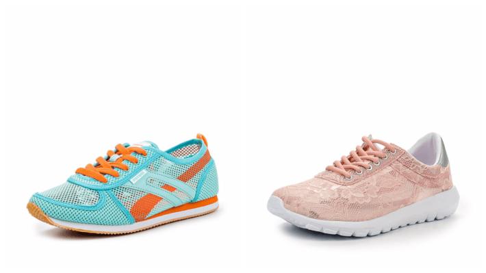 модные кроссовки разноцветные весна лето 2020