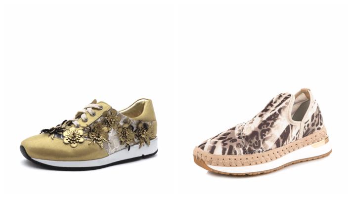 модные блестящие кроссовки весна лето 2020