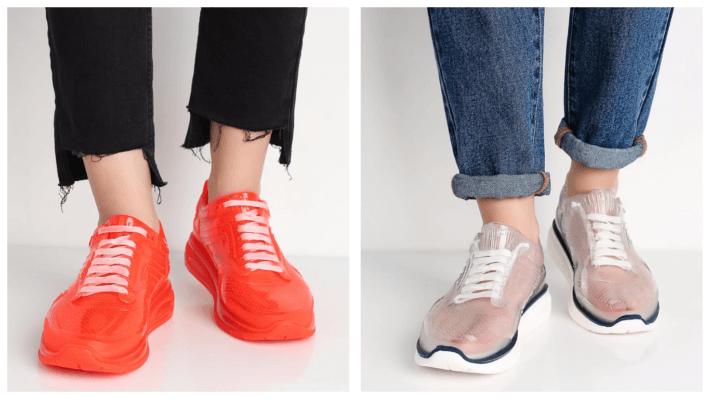 модные оригинальные кроссовки весна лето 2020