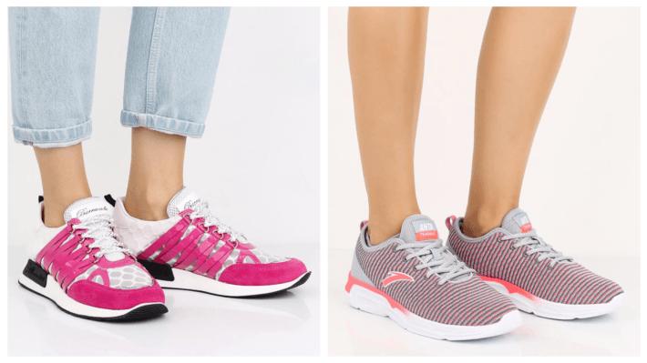 яркие модные кроссовки весна лето 2020