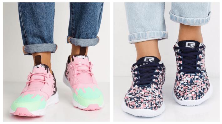 модные кроссовки весна лето 2020 с принтом