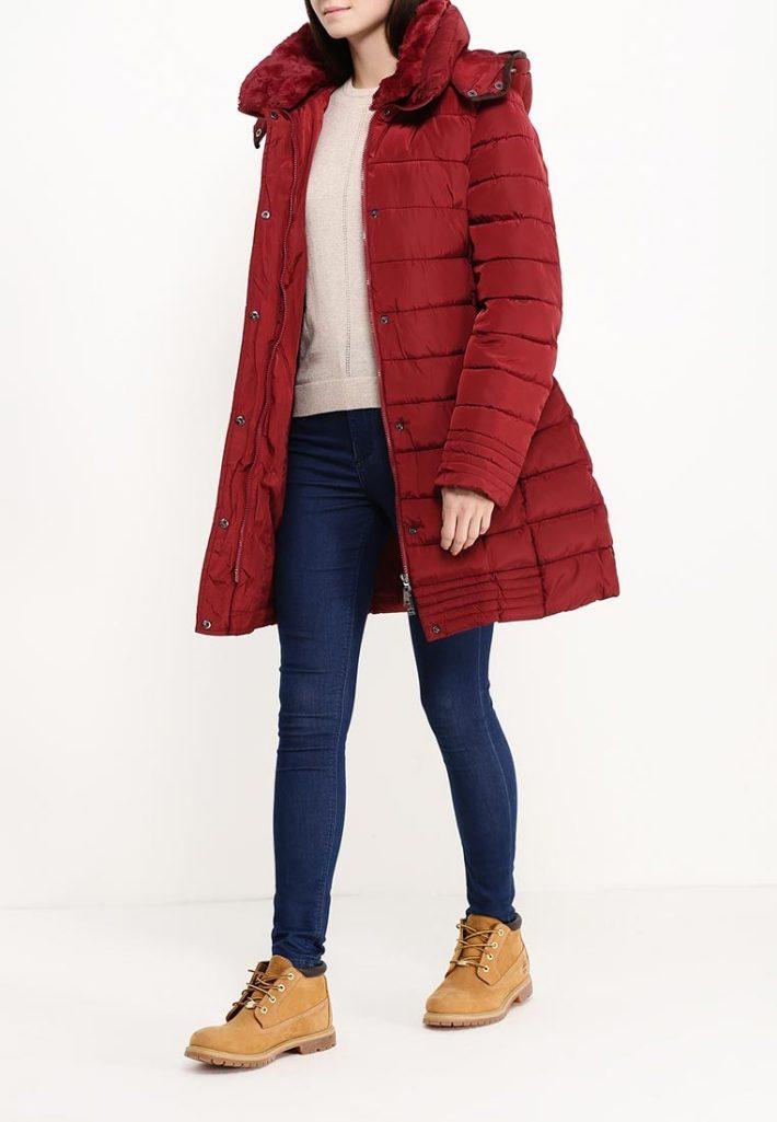 Модные пуховики осень зима: с капюшоном