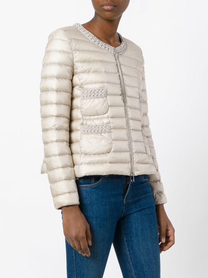 Модные пуховики осень зима 2019 2020: с декором