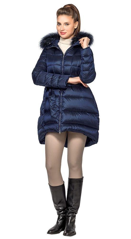 Модные пуховики осень зима 2019 2020: асимметричный