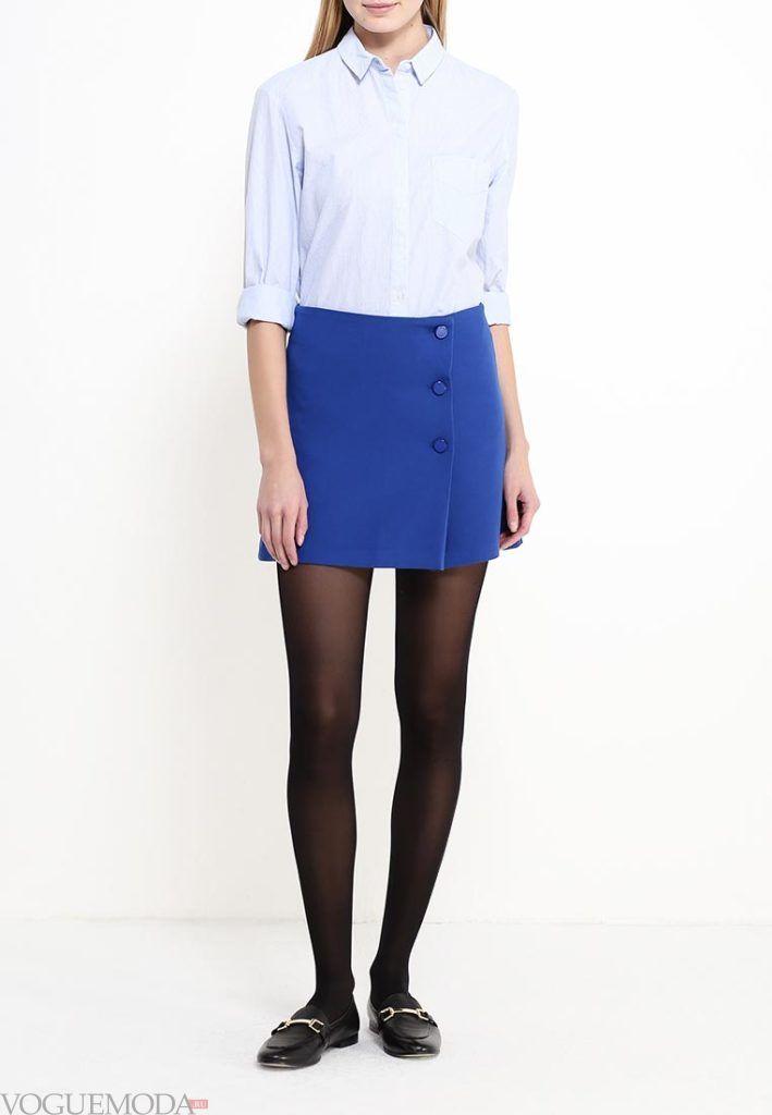 модная юбка короткая