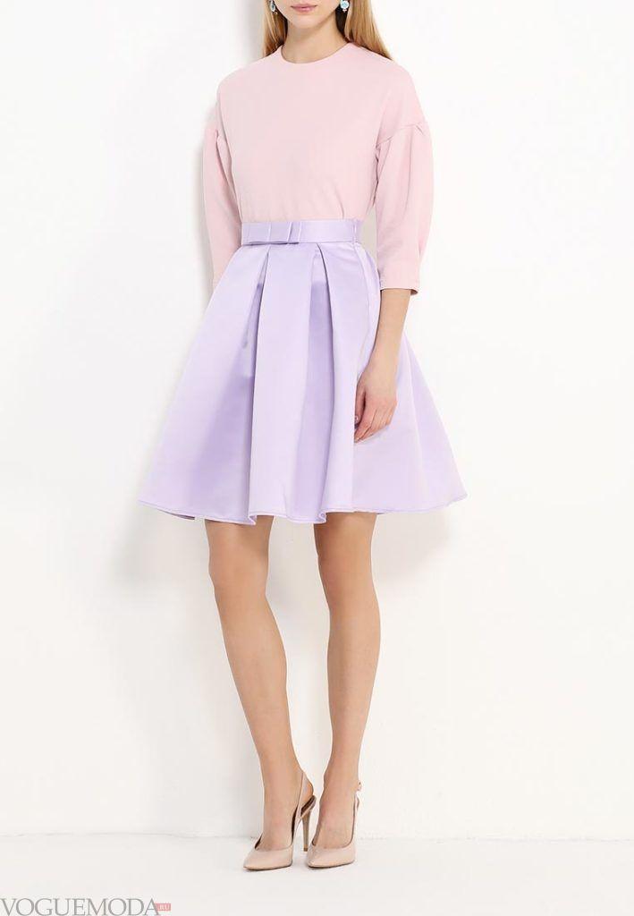 модная юбка пышная