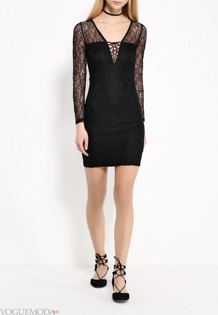 модный образ с платьем