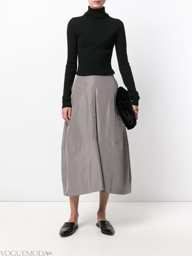 брюки осень зима серые