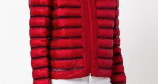 стеганая куртка красная