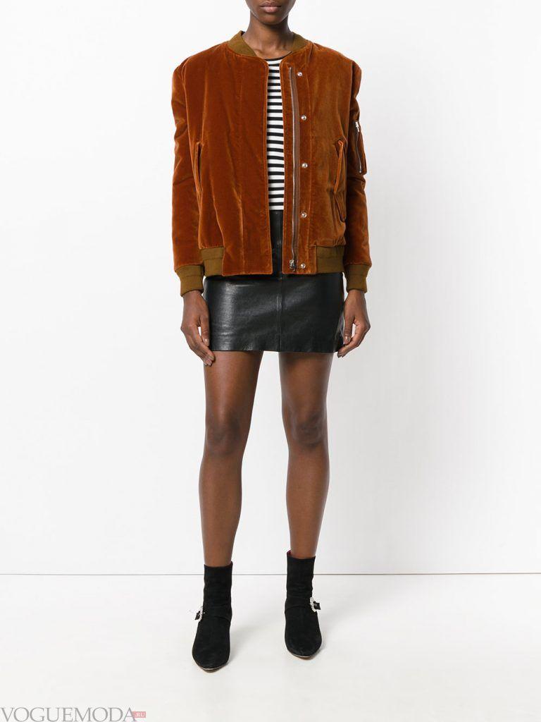 куртка осень зима коричневая