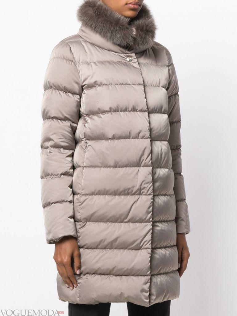 куртка осень зима светлая