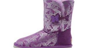 угги фиолетовые
