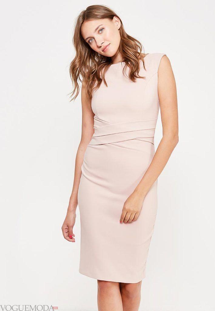 классическое платье светлое