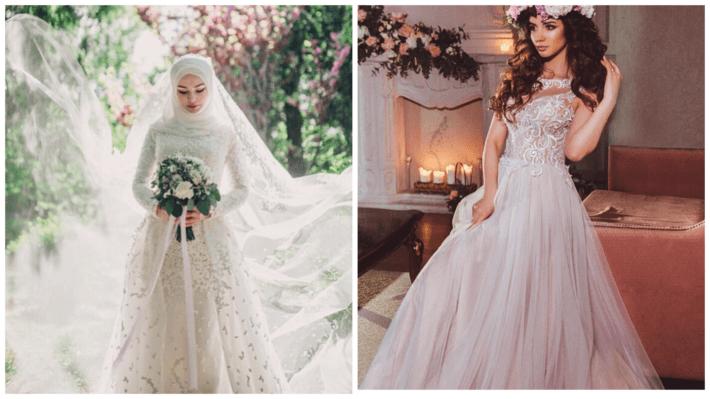 свадебные платья: разных народов