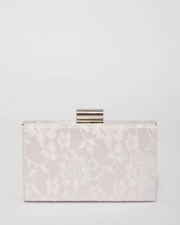 прямоугольная сумочка с узорами