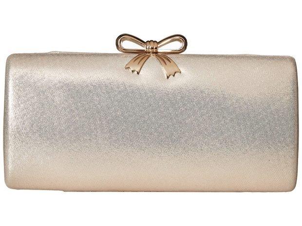 блестящая прямоугольная сумочка
