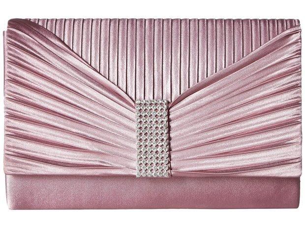розовая тканевая сумка
