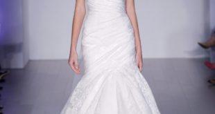 свадебное платье с переплетом