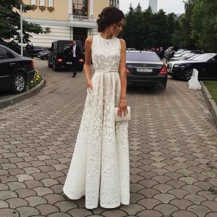 свадебные платья: с аппликацией