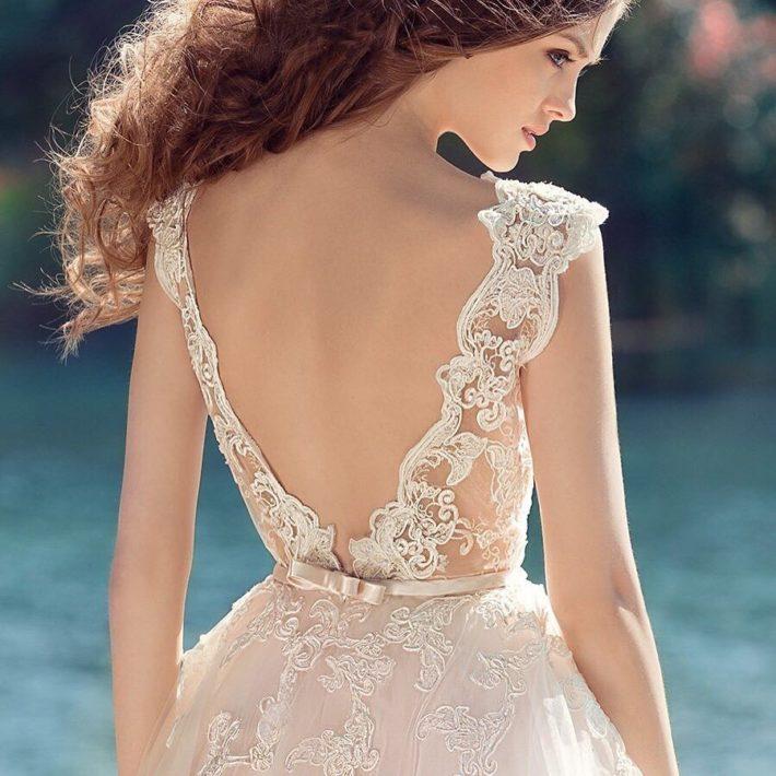 тенденции свадебных платьев: с бантиком