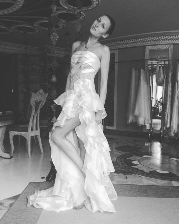 тенденции свадебных платьев: с воланами