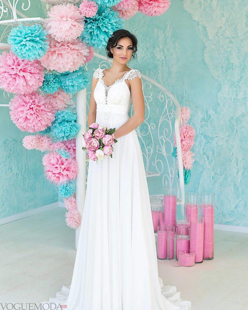 тенденции свадебных платьев: в греческом стиле
