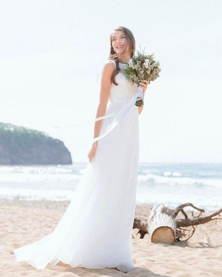 прямое свадебное