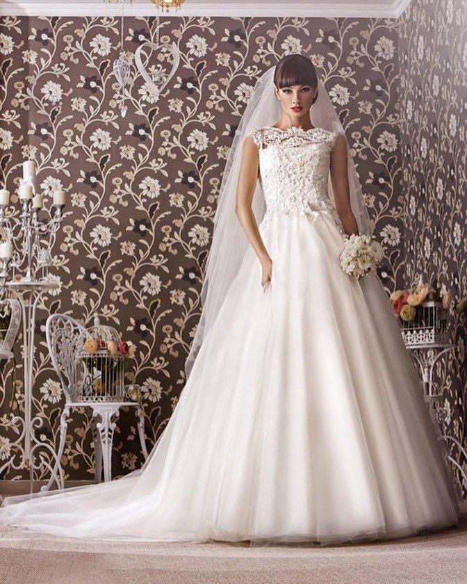 фото свадебных платьев: принцесса