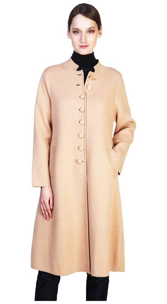 пальто осень зима беж