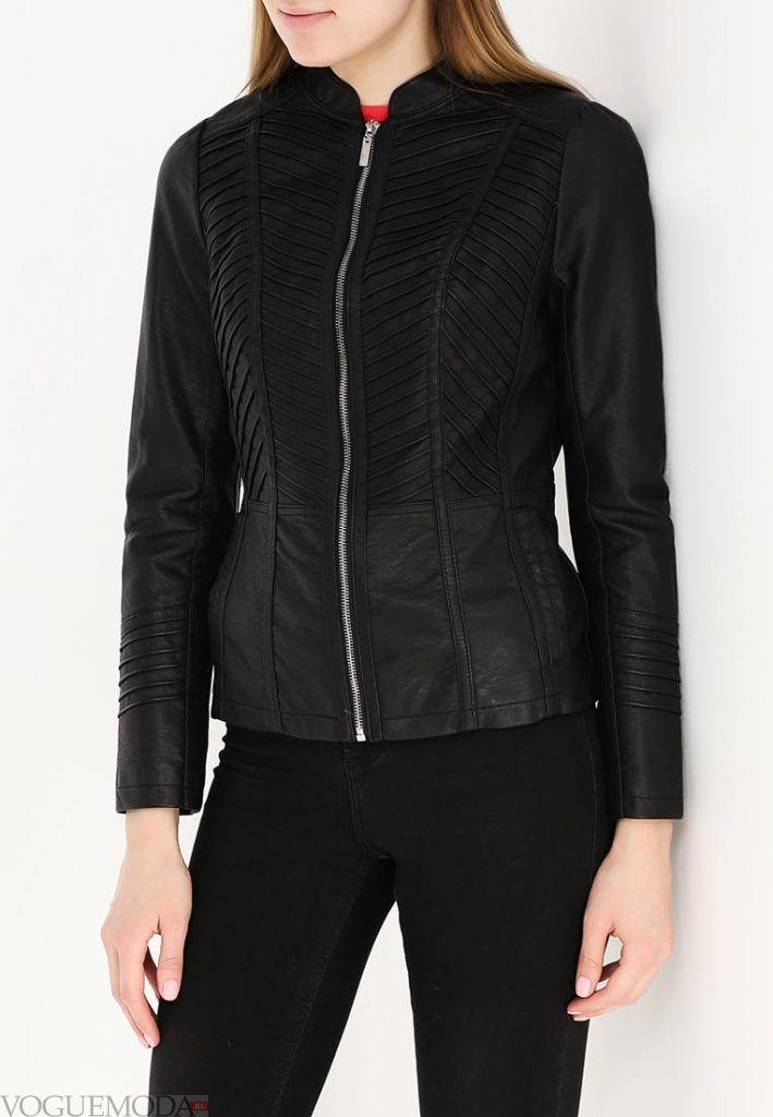 куртка осень зима черная