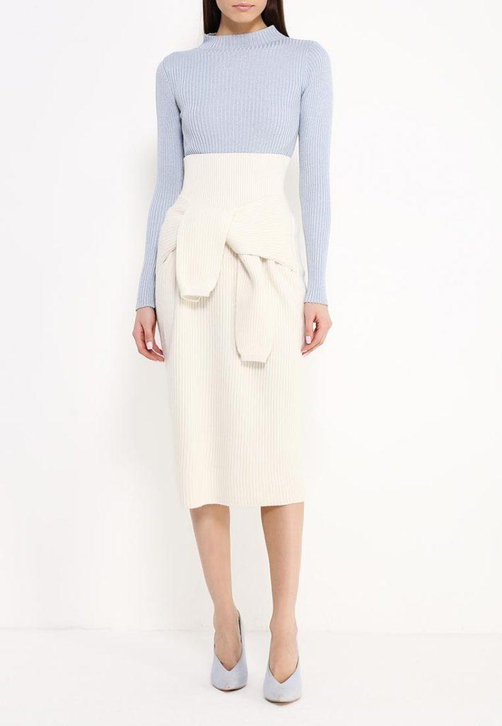 юбка белая