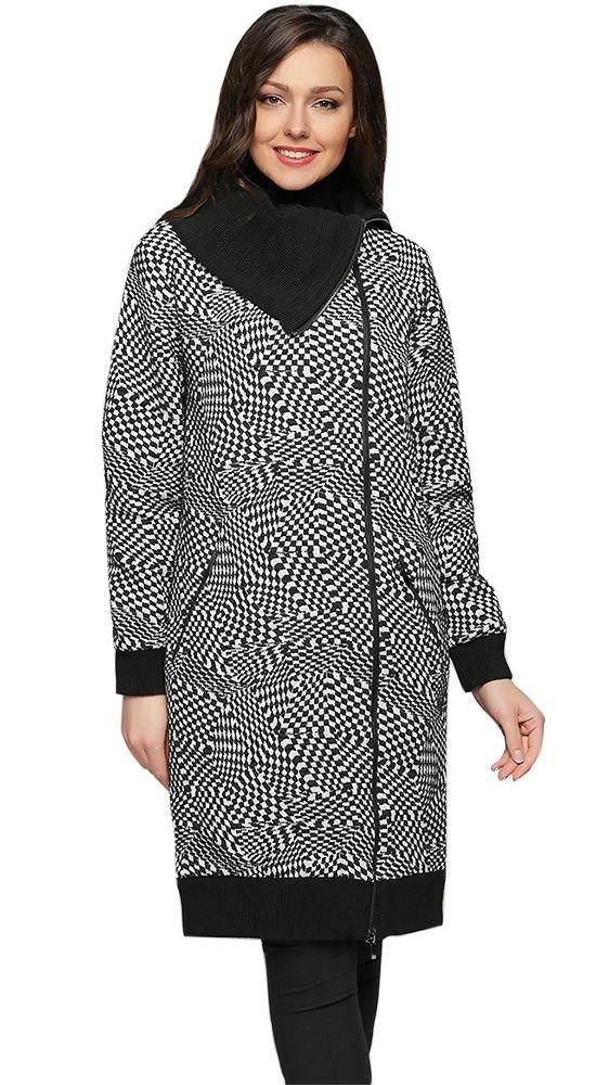 Тренды осень зима: пальто с воротником
