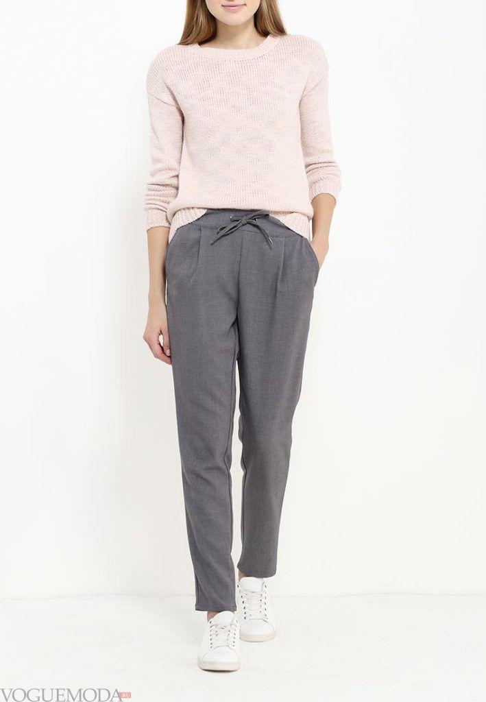 брюки осень зима с поясом