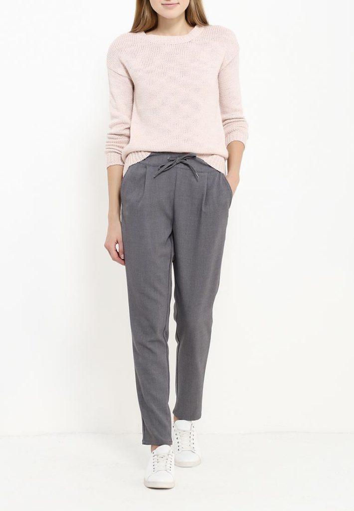 брюки с поясом