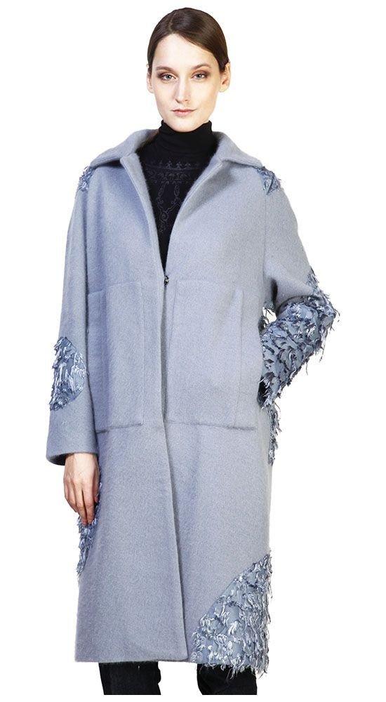 Тренды осень зима: пальто длинное