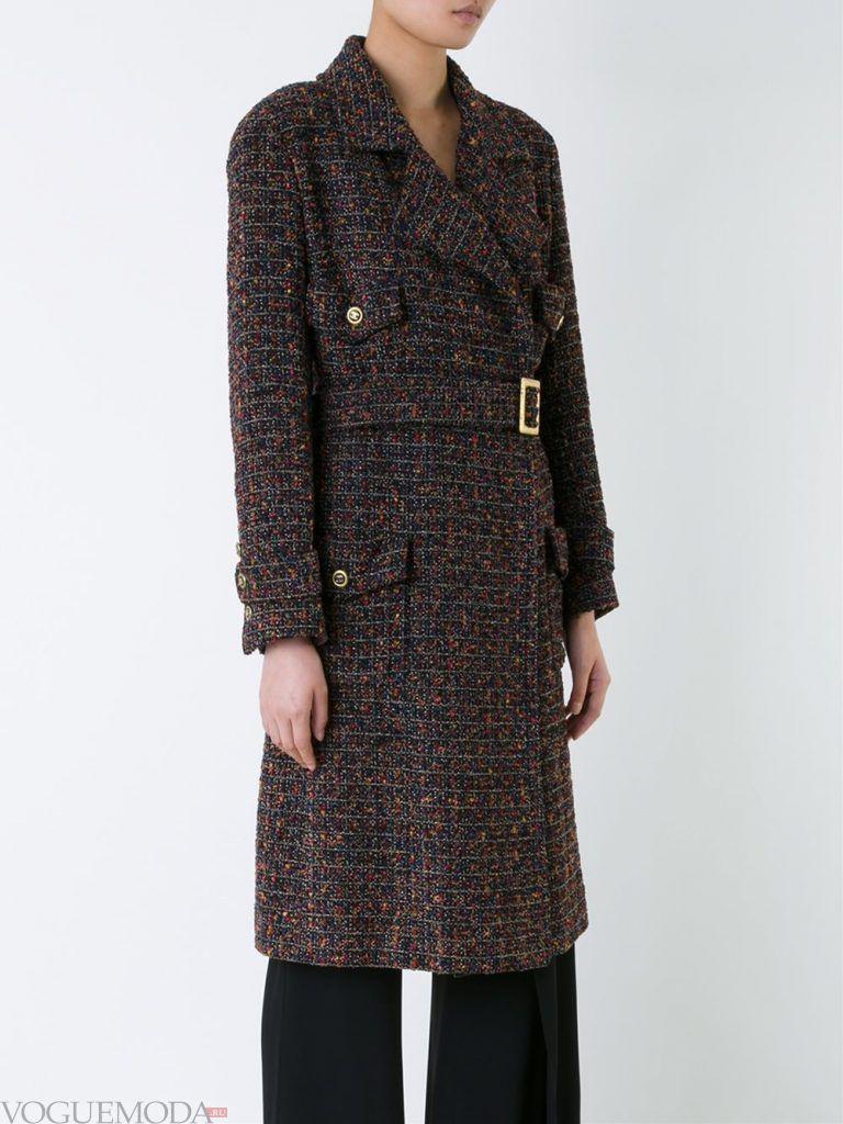 Верхняя одежда осень зима 2019 2020: модное пальто серое