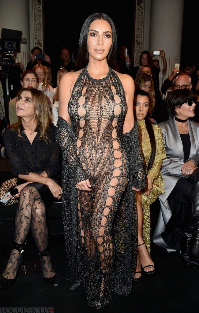 голое платье из кружева темное