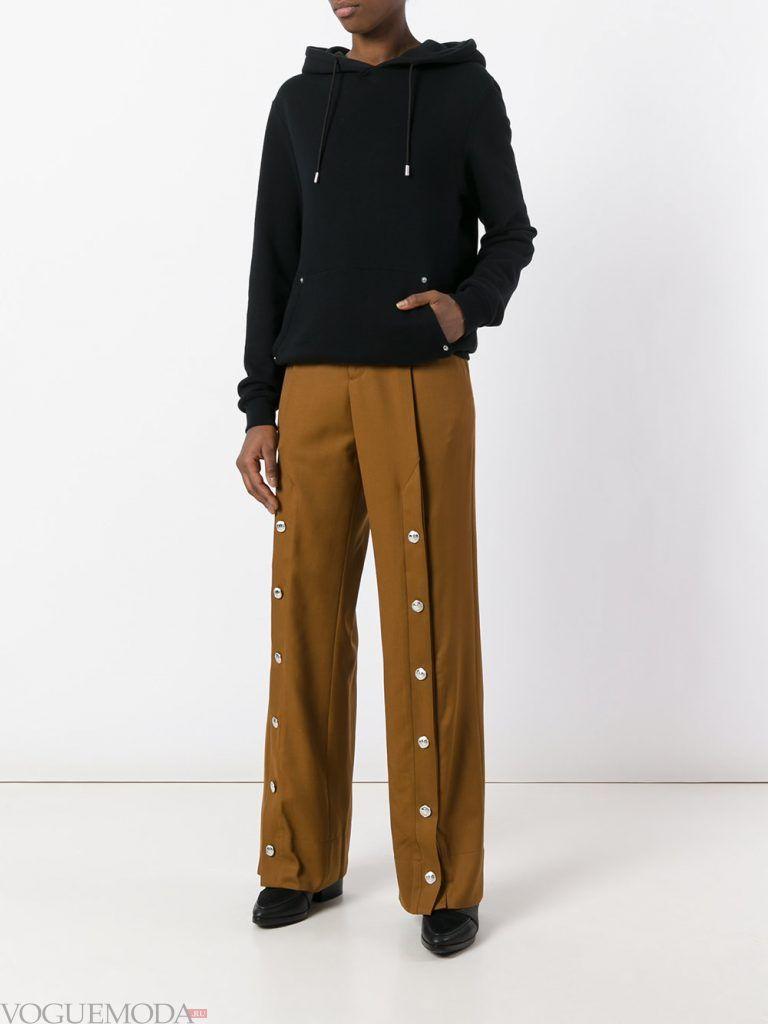 классические брюки с декором