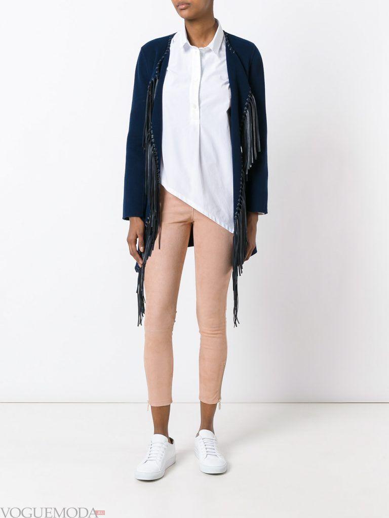 женские брюки нюдовые