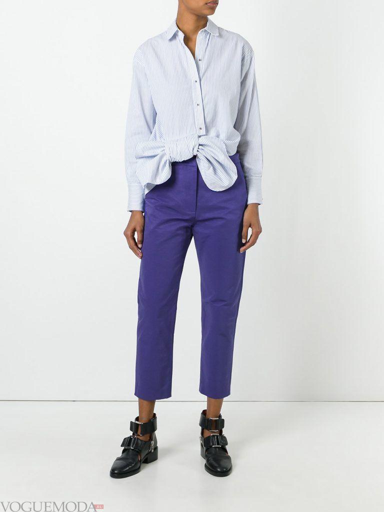 женские брюки яркие
