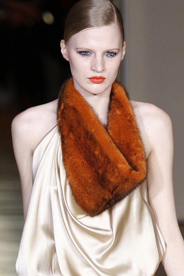 шарф-хомут меховой