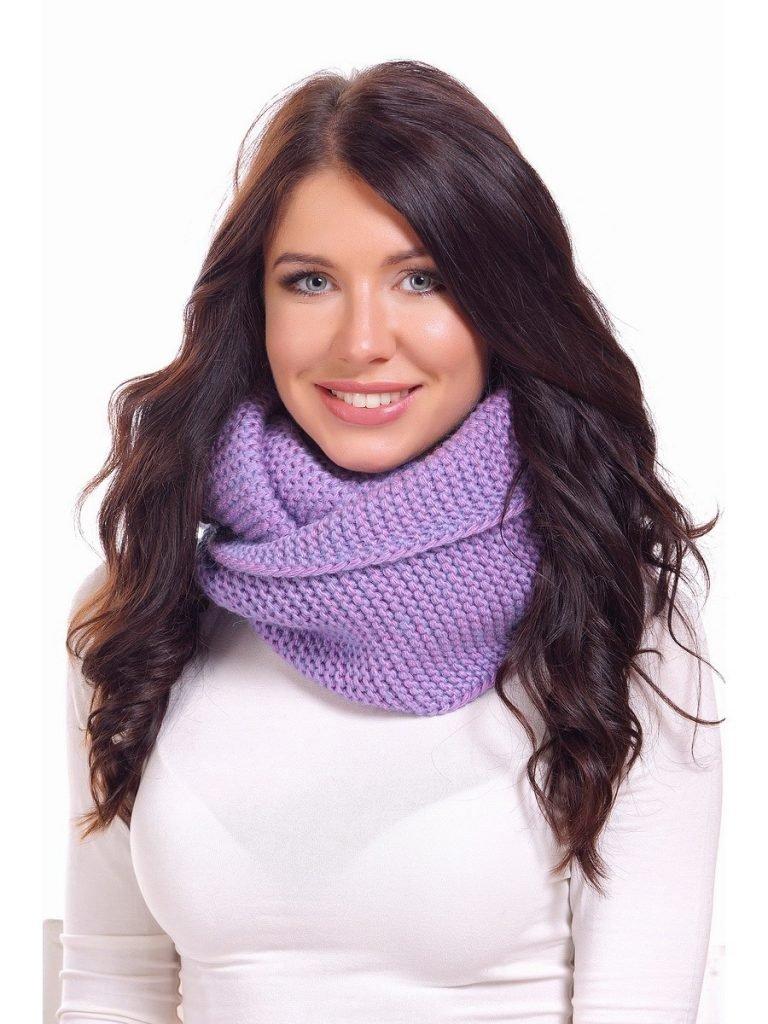 шарф-снуд цветной