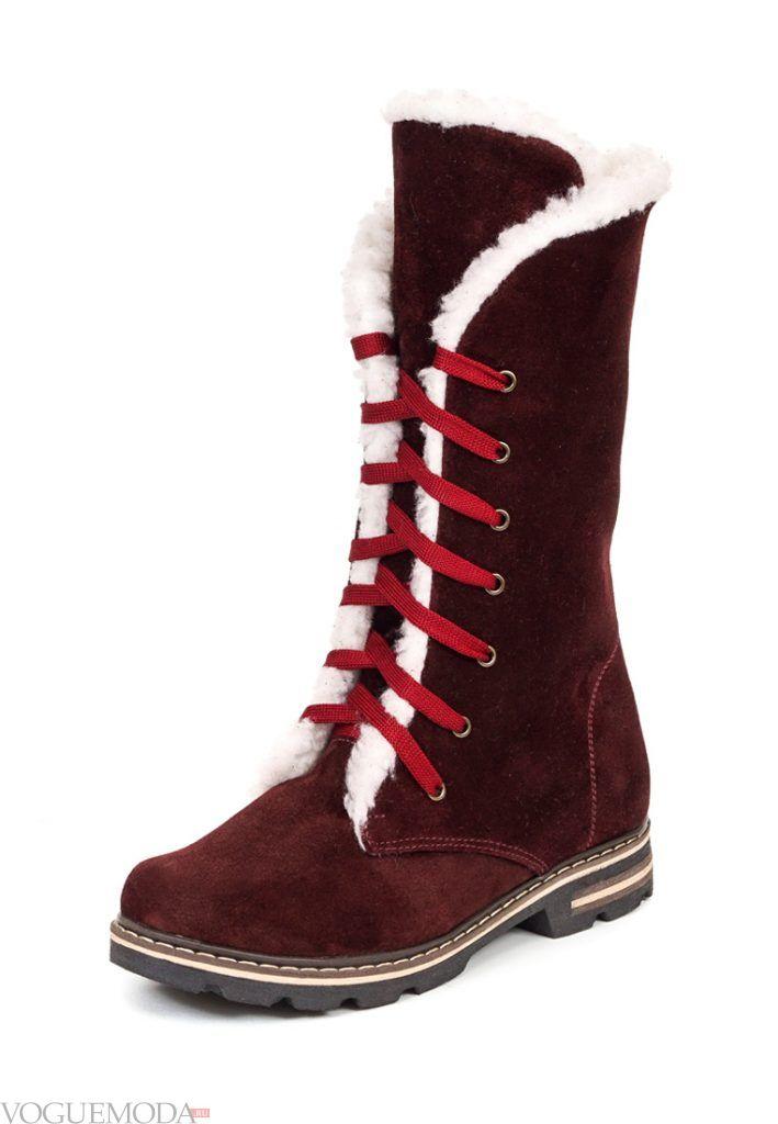 лук осень зима ботинки