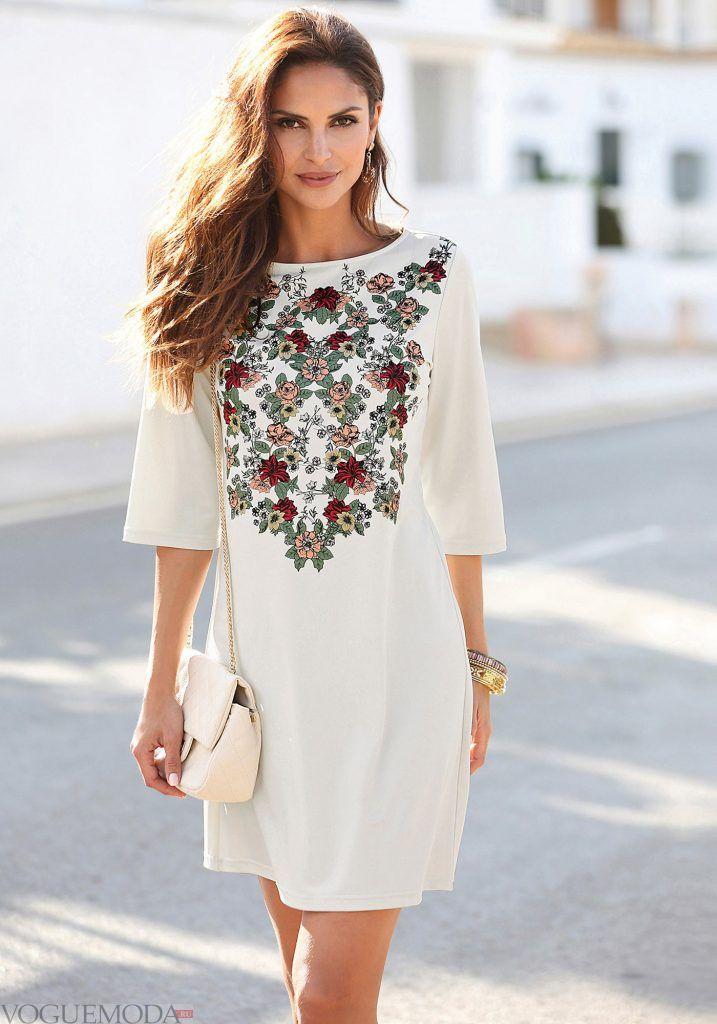 лук весна лето с белым платьем