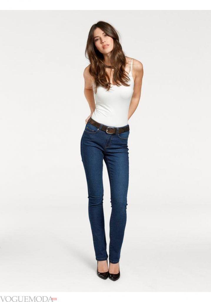 лук весна лето с джинсами скинни