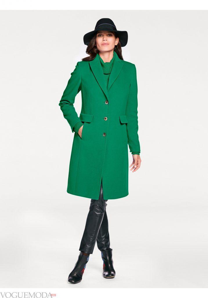 лук весна лето с зеленым пальто