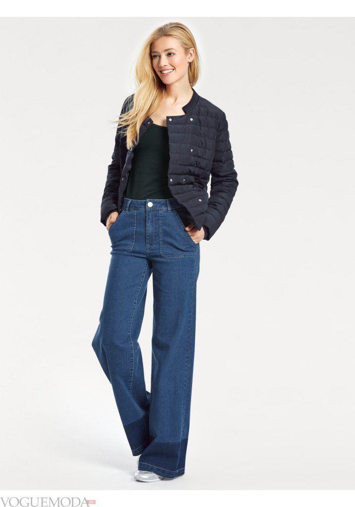 модный лук весна лето с джинсами