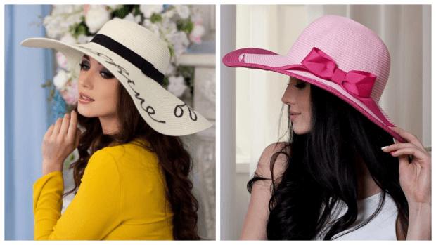 модные шляпы с декором